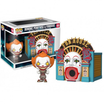 FIGURA  DEMONIC PENNYWISE & FUNHOUSE (IT 2) -FUNKO POP