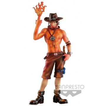 FIGURA PORTGAS D. ACE (ONE PIECE) - BURNING COLOR VER.