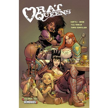 RAT QUEENS 03: DEMONIOS