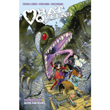 RAT QUEENS 04: ALTAS FANTASÍAS