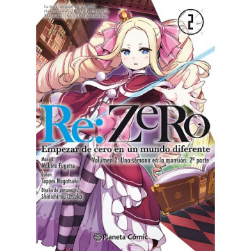 RE:ZERO VOLUMEN 02 Nº02 (Manga)
