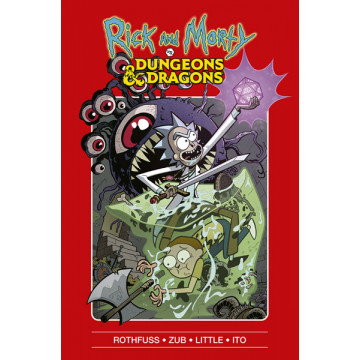 RICK Y MORTY VS DUNGEONS & DRAGONS