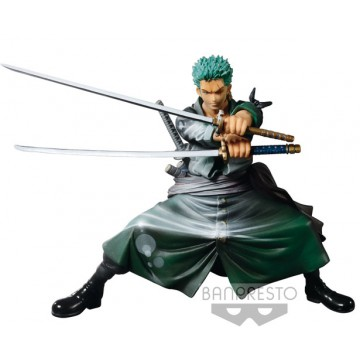 FIGURA RORONOA ZORO (ONE PIECE) - SCULTURES SHINING COLOR VER.