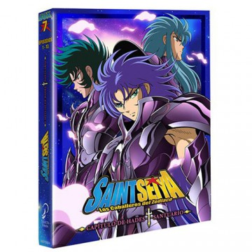 BLURAY SAINT SEIYA BOX 07: HADES - SANTUARIO Episodios 1 - 13