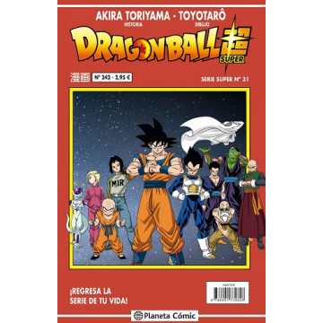 DRAGON BALL SUPER 31 (SERIE ROJA Nº 242)