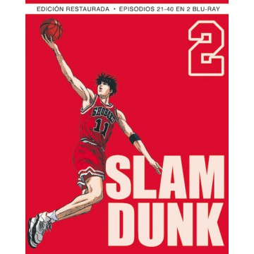 BLURAY SLAM DUNK BOX 2 (Ep. 21-40)