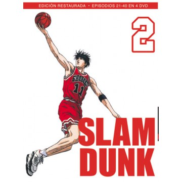 DVD SLAM DUNK BOX 2 (Ep. 21-40)