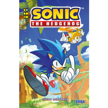 SONIC THE HEDGEHOG: EFECTOS COLATERALES (Edición en tomo)