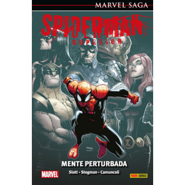 EL ASOMBROSO SPIDERMAN 40: SPIDERMAN SUPERIOR. MENTE PERTURBADORA (Marvel Saga 89)