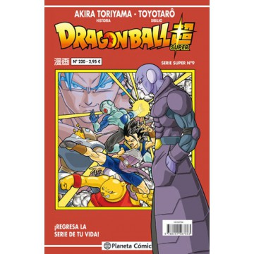 DRAGON BALL SUPER 09 (SERIE ROJA Nº 220)