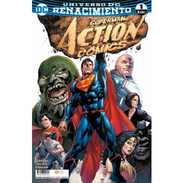 SUPERMAN: ACTION COMICS 01 (Renacimiento)