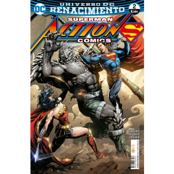 SUPERMAN: ACTION COMICS 02 (Renacimiento)