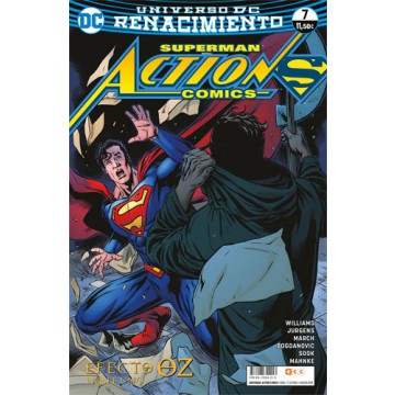 SUPERMAN: ACTION COMICS 07 (Renacimiento)