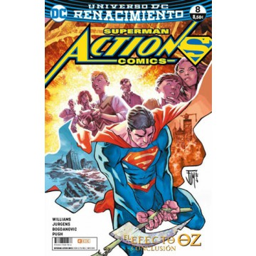 SUPERMAN: ACTION COMICS 08 (Renacimiento)
