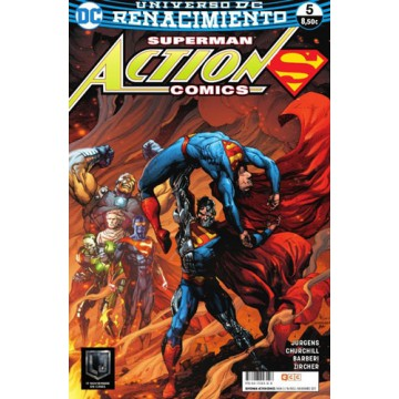 SUPERMAN: ACTION COMICS 05 (Renacimiento)