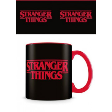 TAZA STRANGER THINGS LOGO RED 320 ML