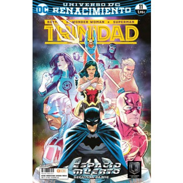 BATMAN/SUPERMAN/WONDER WOMAN: TRINIDAD 11 (Renacimiento)