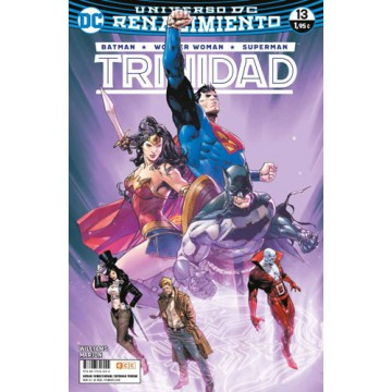 BATMAN/SUPERMAN/WONDER WOMAN: TRINIDAD 13 (Renacimiento)