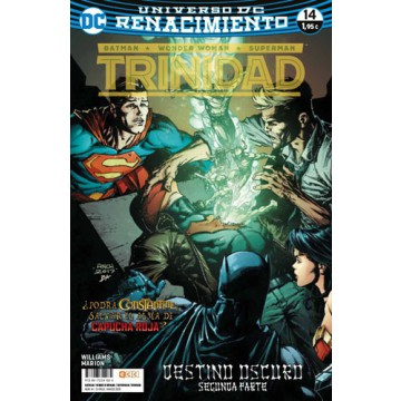 BATMAN/SUPERMAN/WONDER WOMAN: TRINIDAD 14 (Renacimiento)