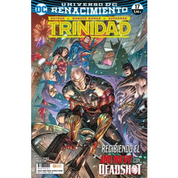 BATMAN/SUPERMAN/WONDER WOMAN: TRINIDAD 17 (Renacimiento)