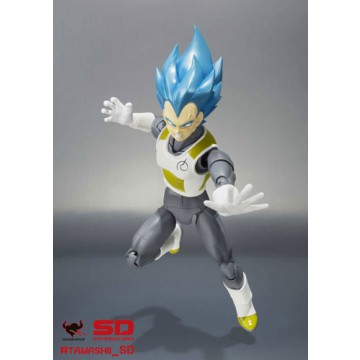 FIGURA VEGETA SUPER SAIYAN GOD (DRAGON BALL) - S.H.FIGUARTS