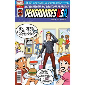 VENGADORES USA 11
