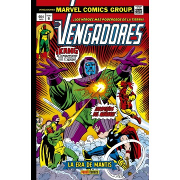 LOS VENGADORES 06: LA ERA DE MANTIS (Marvel Gold Omnibus)