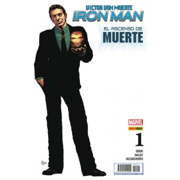 VICTOR VON MUERTE: IRON MAN 01 (Portada Alternativa)