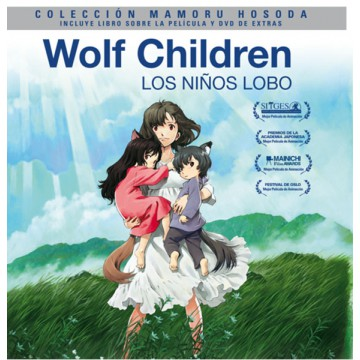 BLURAY WOLF CHILDREN - EDICIÓN DIGIBOOK