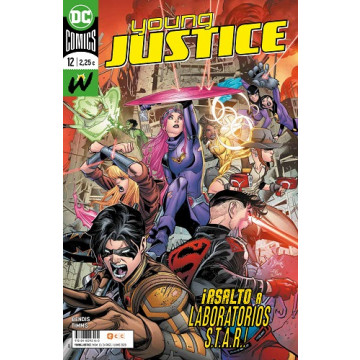 YOUNG JUSTICE 12