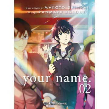 YOUR NAME 02 (de 03) (Versión cómic)
