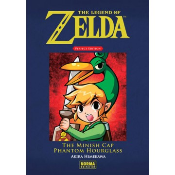 THE LEGEND OF ZELDA. PERFECT EDITION 03: THE MINISH CAP Y PHANTOM HOURGLASS
