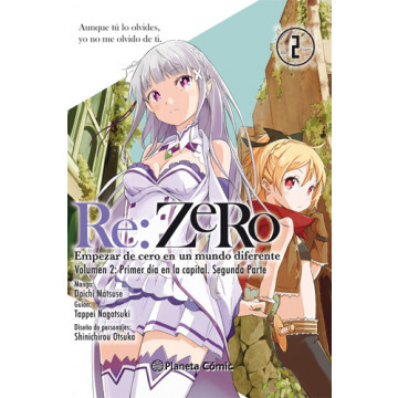 RE:ZERO VOLUMEN 01 Nº02 (Manga)