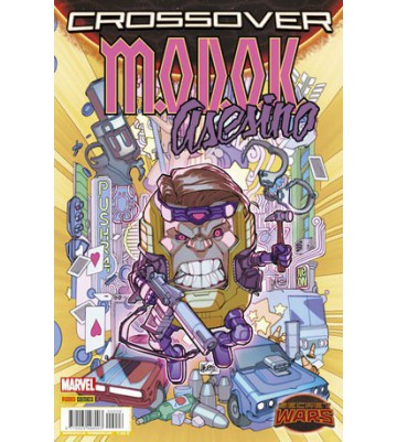 SECRET WARS. CROSSOVER 06: M.O.D.O.K ASESINO