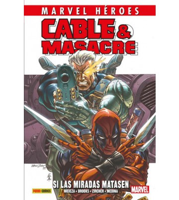 MARVEL HÉROES 87: CABLE Y MASACRE 01
