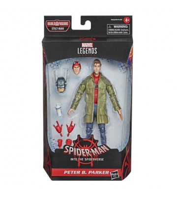 FIGURA PETER B. PARKER (MARVEL LEGENDS) -  SPIDER-MAN INTO THE SPIDER-VERSE