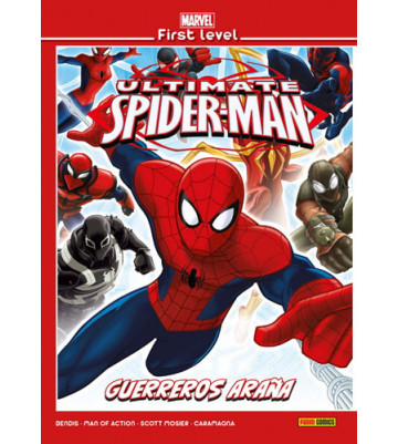MARVEL FIRST LEVEL 19: ULTIMATE SPIDER-MAN. GUERREROS ARAÑA