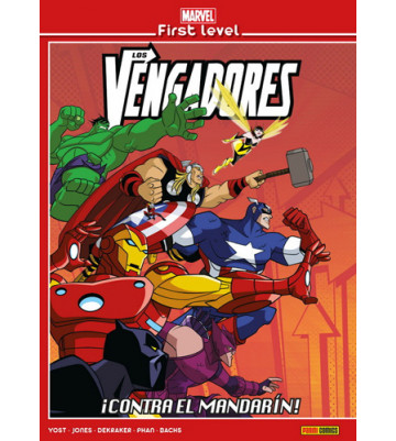MARVEL FIRST LEVEL 03: LOS VENGADORES ¡CONTRA EL MANDARÍN!