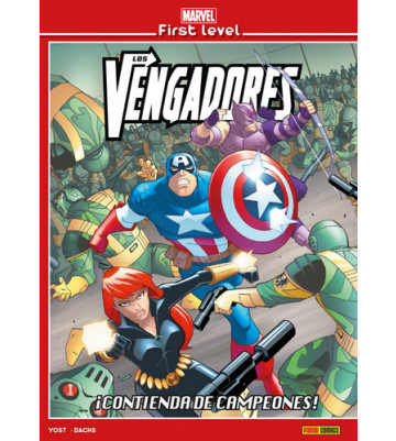 MARVEL FIRST LEVEL 06: LOS VENGADORES: ¡CONTIENDA DE CAMPEONES!