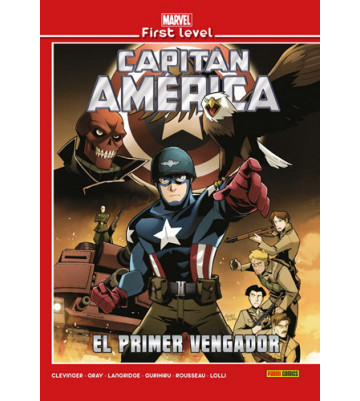 MARVEL FIRST LEVEL 07: CAPITÁN AMÉRICA: EL PRIMER VENGADOR