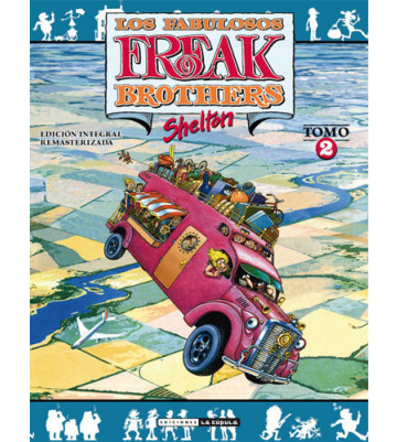 FREAK BROTHERS 02 (Edición integral)