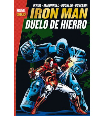 IRON MAN: DUELO DE HIERRO (Marvel Gold)
