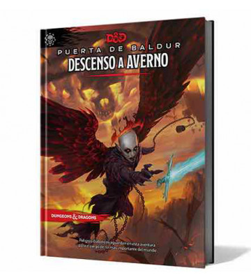JUEGO ROL DESCENDO A AVERNO - DUNGEONS & DRAGONS