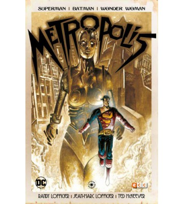 SUPERMAN/BATMAN/WONDER WOMAN: METROPOLIS