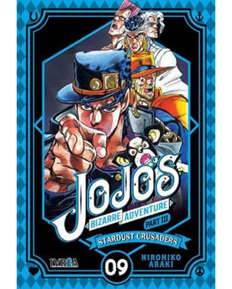 JOJO'S BIZARRE ADVENTURE. PARTE 3: CRUSADERS 09